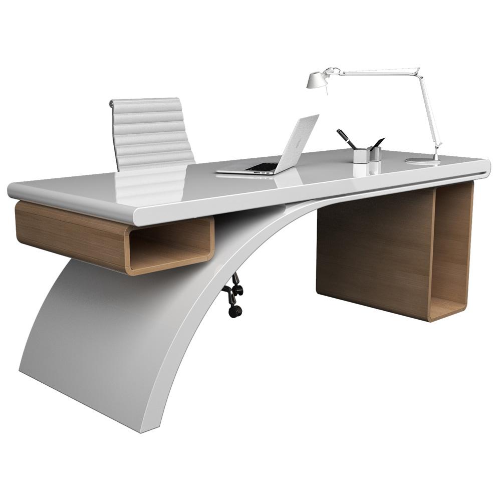Scrivania moderna bridge scrivanie di design for Consolle scrivania moderna