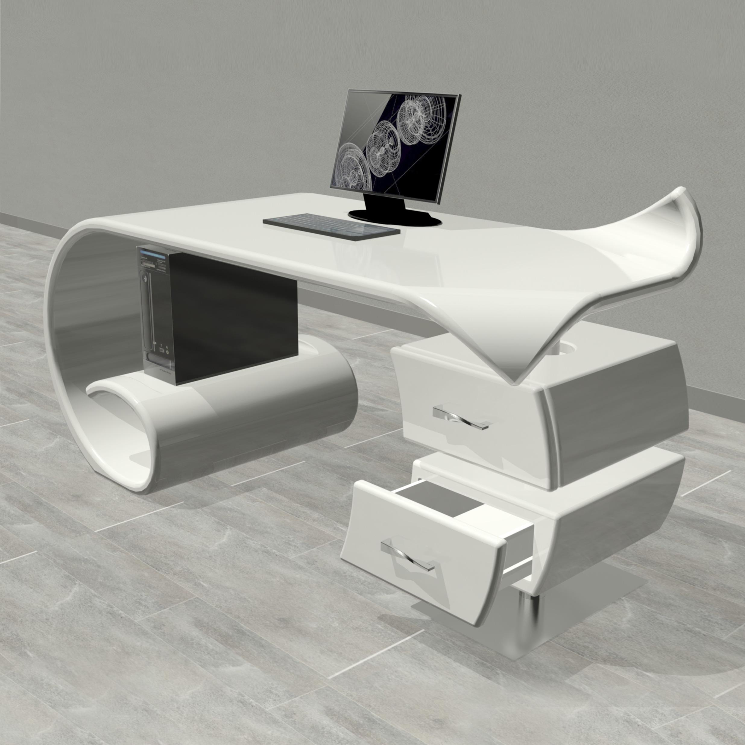 scrivania design WAVES