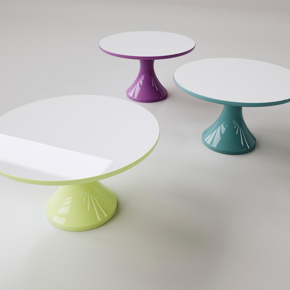 tavoli moderni ROUND TABLE