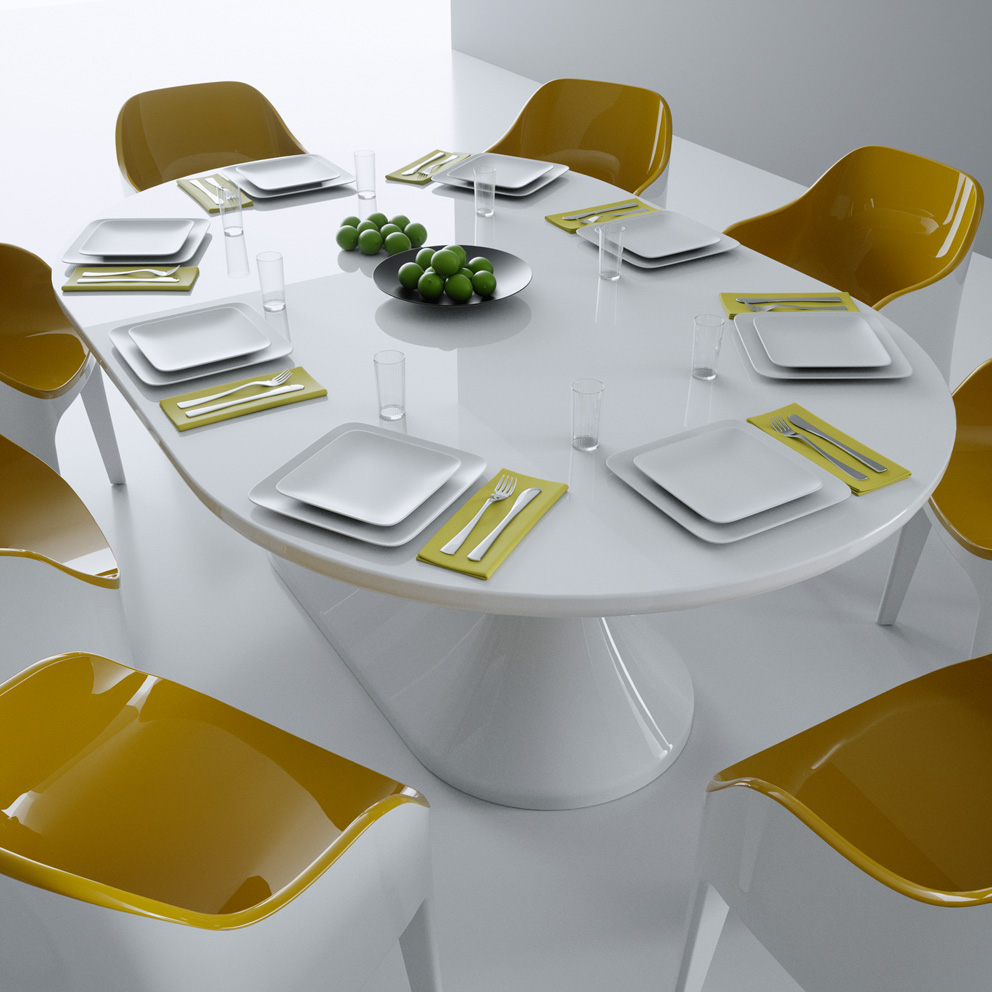 Tavolo Moderno Lunch Table